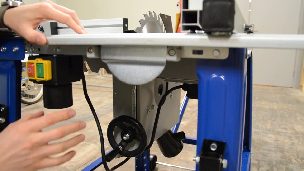 TS 310 Scheppach zaagtafel